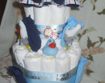 It's a Boy Diaper Cake,