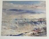 Waves Breaking on Coral Beach by Diana Mackie (Fine Art Ltd Ed Print)