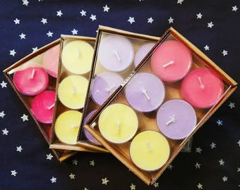 Soy Tealights 6 Pack