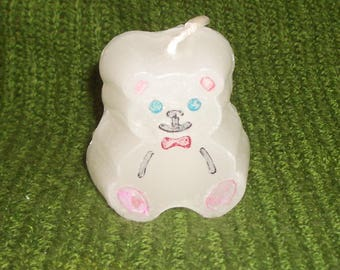 Cute Teddy Bear Candle