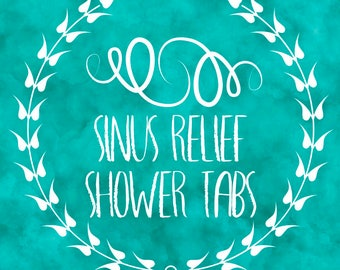 Sinus Relief Shower Tabs