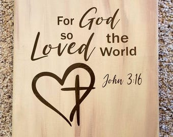 For God so Loved the World/there's no place like home/live like someone left the gate open/Psalm 95:1