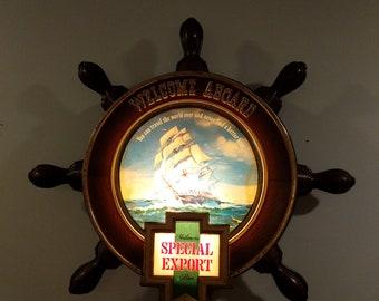 Vintage Heileman's Special Export Beer lighted sign