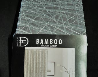 Luxury Collection Shower Curtain - Bamboo Pattern