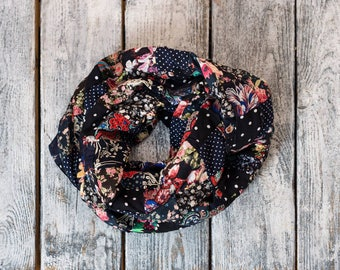 Infinity Patchwork Scarf