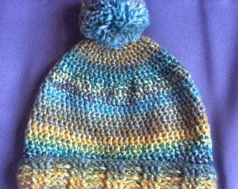 Handmade crocheted hat