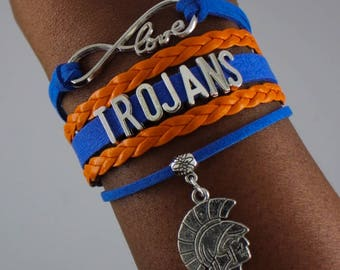 Virginia State University Infinity Bracelet