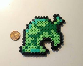 Leaf beads involved / Animal crossing new leaf / Perler beads / Pixel sprite