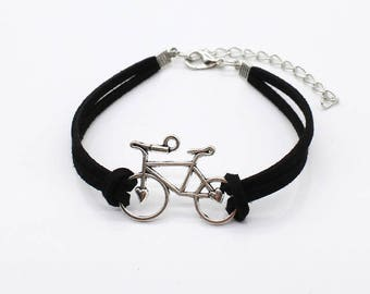 Bicycle Charm Bracelet
