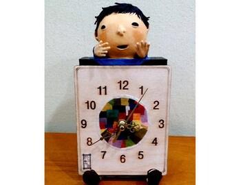 doll and clock 2 (han-g-doll)