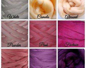 Wool, merino wool, thick wool, giant wool, giant knitting, wool 28 Microns, natural wool, wool blanket