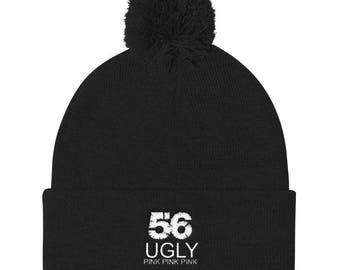 Ugly Pom Pom Knit Cap