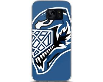 """Blue """"92"""" Goalie Mask Samsung Case"""