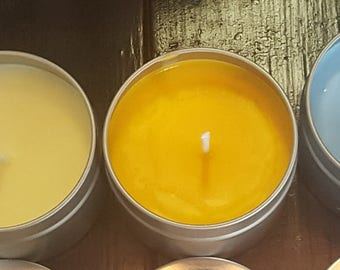 4oz 100% Soy Scented Handpoured Candle