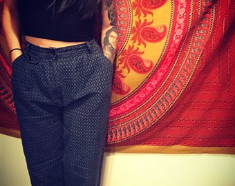 Vintage High Waisted Trouser Pant