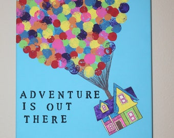 House from Up, Adventure is out there