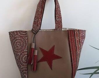 """Small tote bag style """"newborn"""""""
