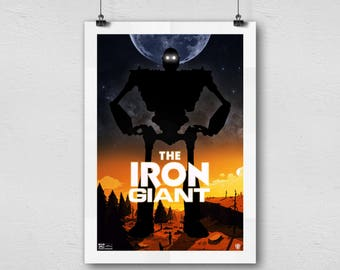 The Iron Giant animation movie Cover Home Decor poster