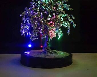 NightAngel Wire tree sculpture