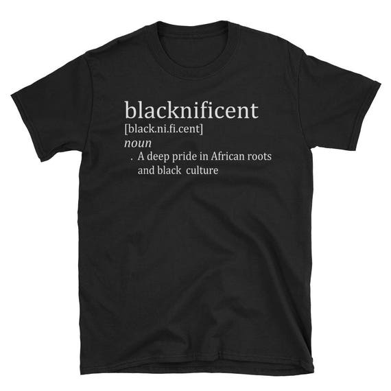 Blacknificent Pride Short-Sleeve Unisex T-Shirt