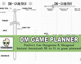 Dungeon Master Game Planner