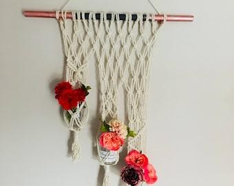 Handmde macrame wall hanging