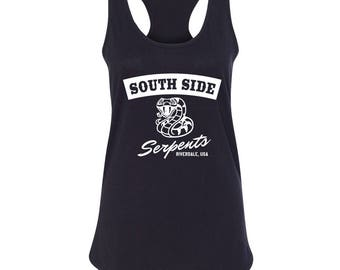 "Riverdale TV Show ""Southside Serpents"" Racer Back Tank"