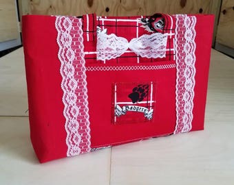 Medium Wisconsin Badger Handbag