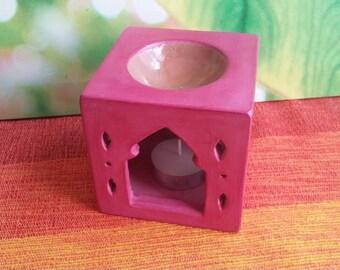 Essential oil diffuser, aroma lamp, oil burner, aroma diffuser, candle warmer