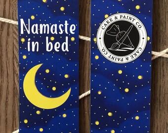 Namaste In Bed Bookmark