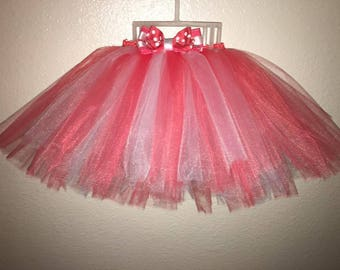 Custom Baby Tutu and Headband set (0-3 months)