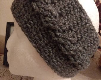 Cabled Ear Warmer / Winter Headband