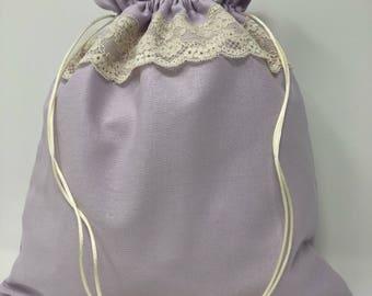 Lace Drawstring Elegant Bag