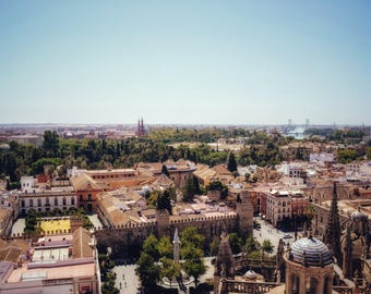 Seville Photography, Spain Print, Andalucia Photo, Wall Art, Home Decor, Photography Prints