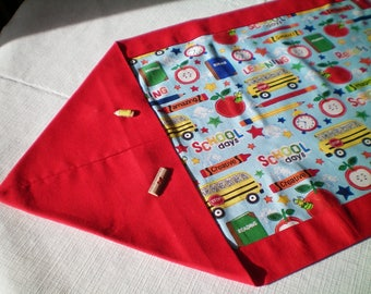 School Days Table Runner