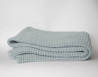 Luxury Linen and Cotton - Bath Towel (Ice Blue)