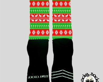 Ugly Sweater Socks || FREE SHIPPING ||