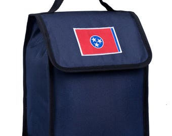 State of Mind Tennessee Flag Lunch Bag