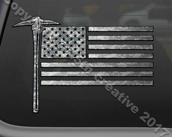 Coal Miner Decal Etsy