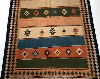 001058 Oriental Kilim Persian 5.9x8.2