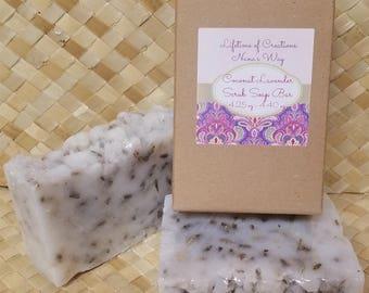 Coconut Lavender Scrub