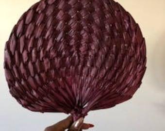 Rafia hand Fan