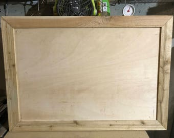 Frame with Sanded Plywood