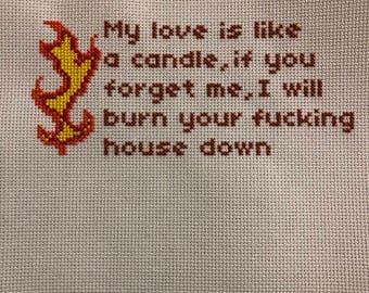 Love cross stitch