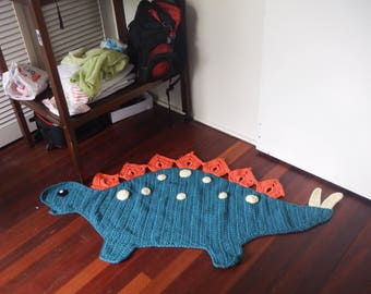 Stegosaurus Floor Rug