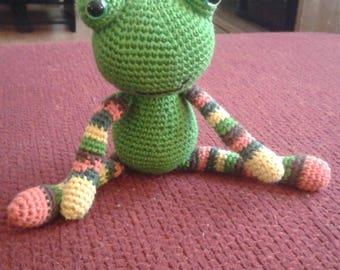 Gronouille amigurumi (crochet)
