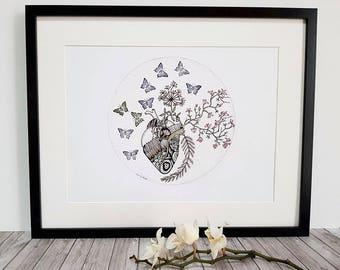 "Illustration ""Sweetness of the Japan"""