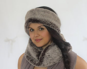 Koala Luxury Faux Fur Neckwarmer