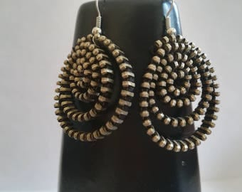 Zipper Earrings -Unique Jewelry