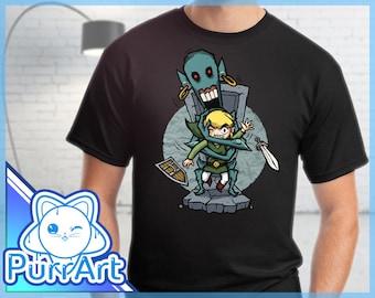 ReDead - Zelda T-Shirt Zelda Shirt The Legend of Zelda Wind Waker Shirt Link Tee ReDead Zelda Shirt